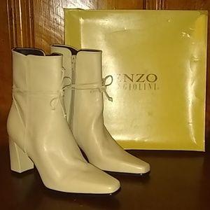 ENZO ANGIOLINI Bone High Heel Boots